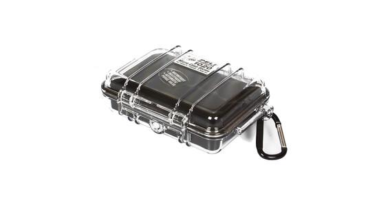 Peli MicroCase 1020 Camping box zwart/transparant